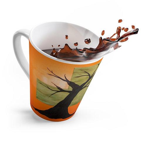 Tree- 12oz Latte mug