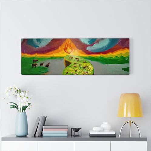Seek Light, Seek Truth- Gallery Canvas