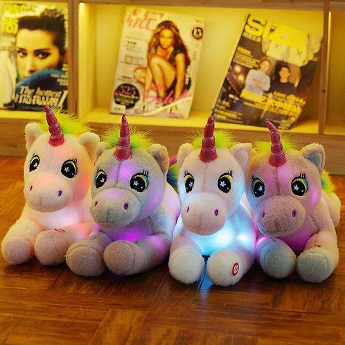 Glowing Unicorn Soft Toy
