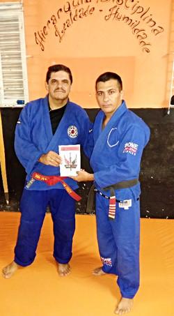 Mestre Fredy Judô e Iranilson Lima