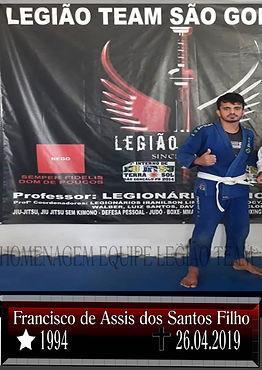 LEGIONÁRIO FRANCISCO DE ASSIS DOS SANTOS