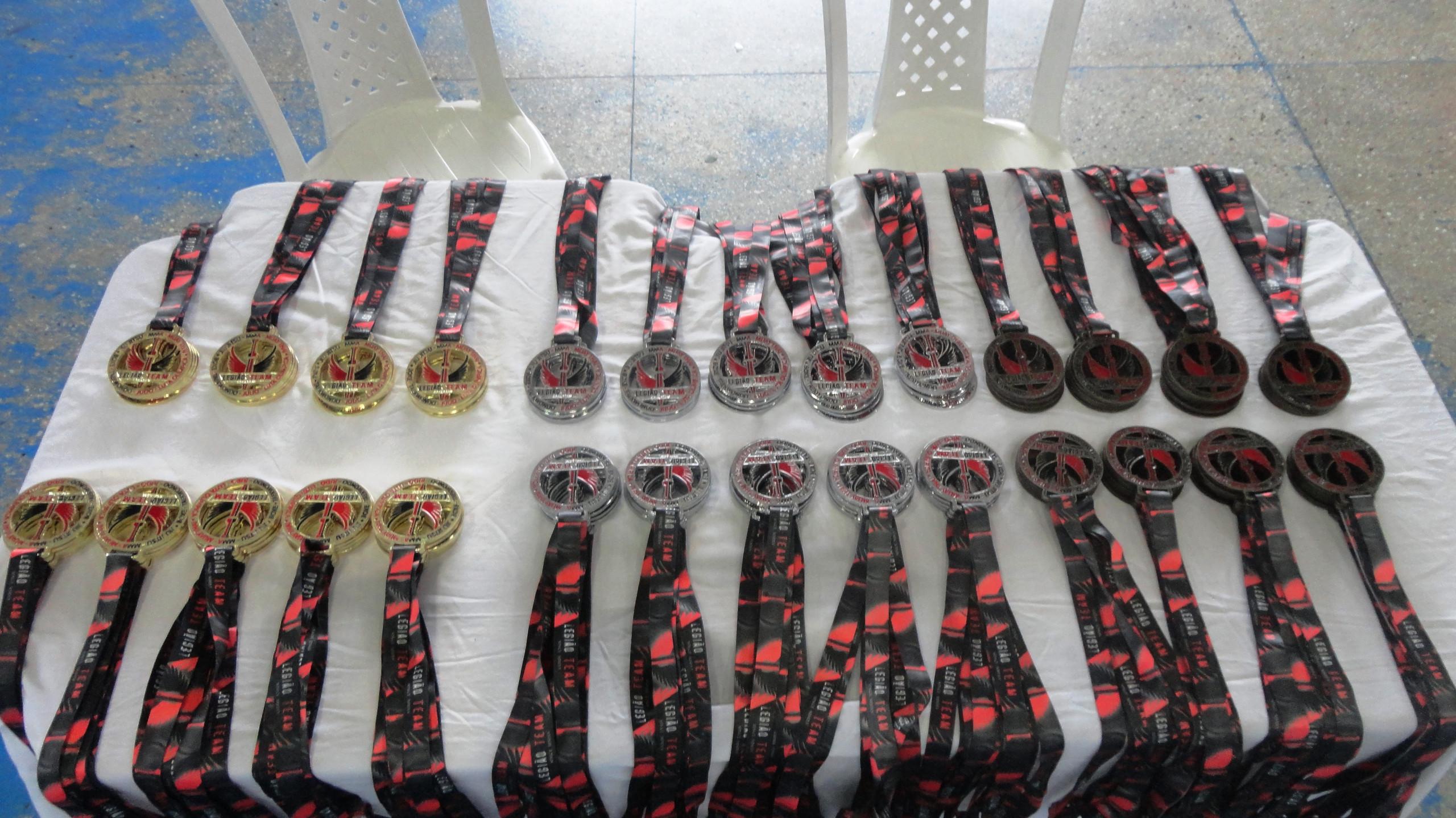 I Copa Legião Team Medalhas no Padrã