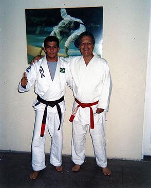 Grão Mestre Robson Gracie e Professor Legionário 01 Iranilson Lima
