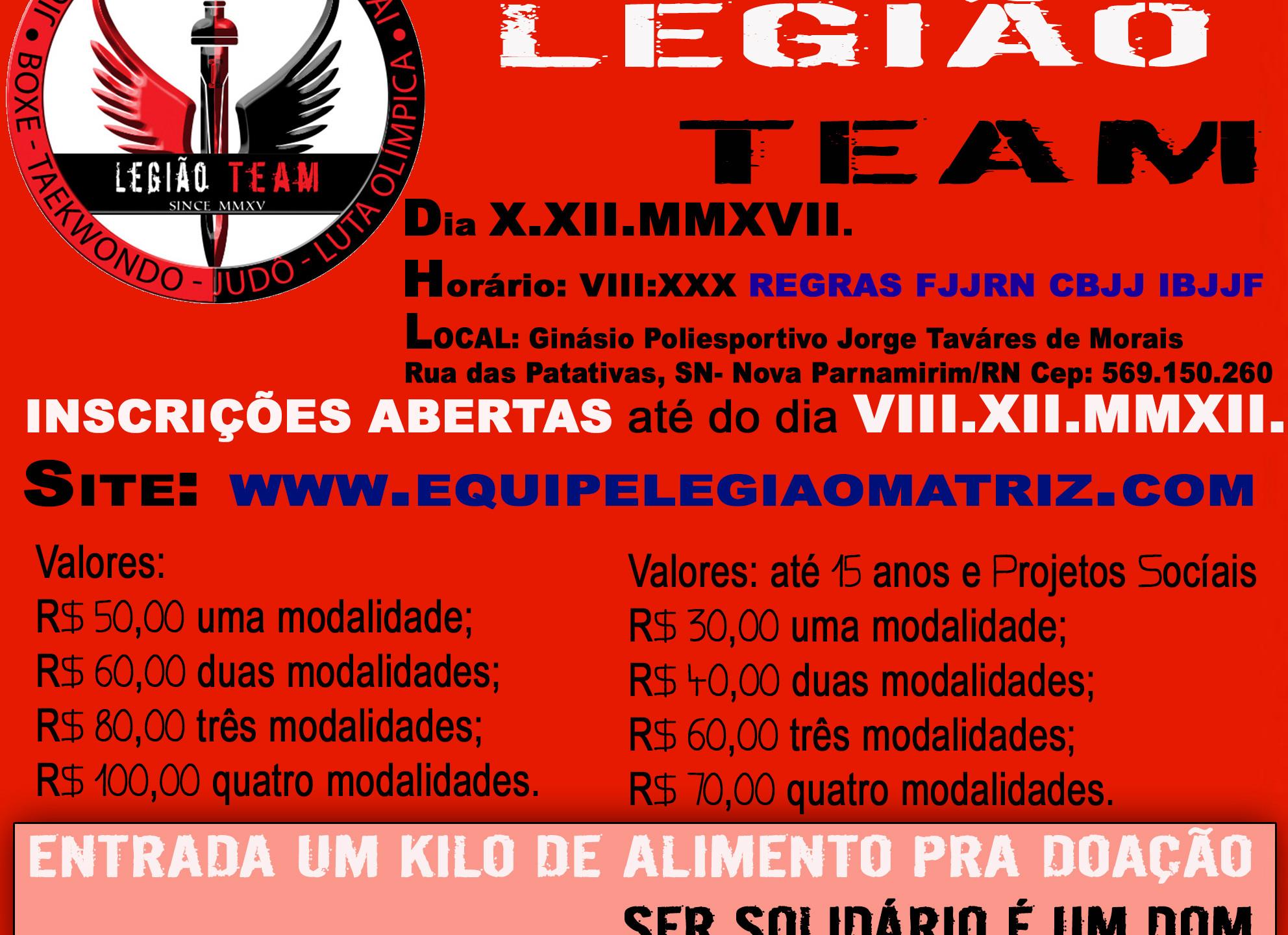 III_COPA_LEGIÃO_TEAM