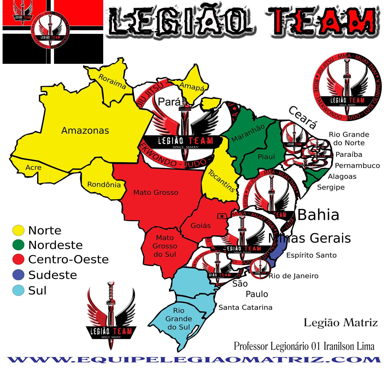 Mapa LT cartaz