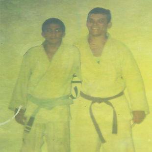Professor Edmilson de Oliveira Baú e Professor Legionário 01 Iranilson Lima