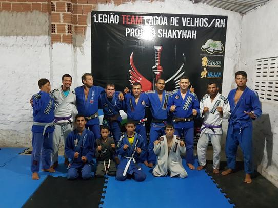 LEGIÃO TEAM SHAKYNAH RECEBE O NOSSO 01 E COMITIVA