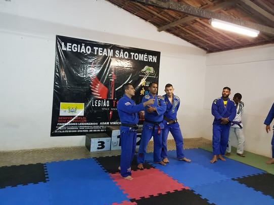 LEGIÃO TEAM SÃO TOMÉ/RN RECEBE O PROFESSOR LEGIONÁRIO 01 IRANILSON E COMITIVA