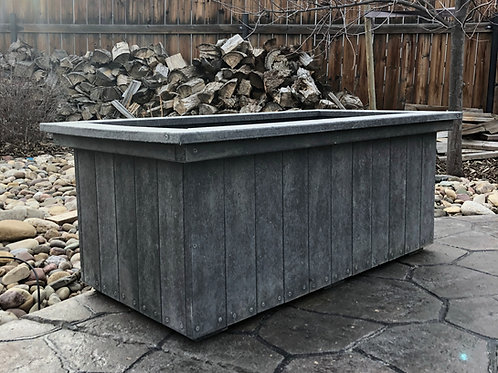 2' x 4' Recycled Plastic Garden Box w/ Option of Soil