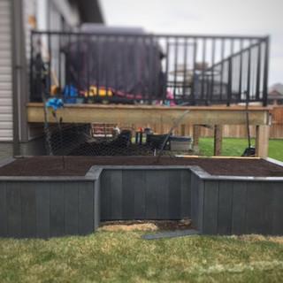 U-shaped Garden Box