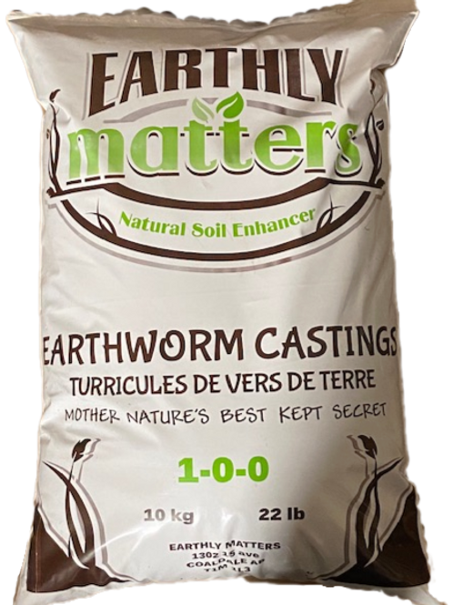 Earthly Matters Worm Castings