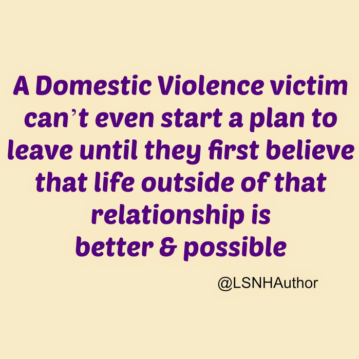 October - Domestic Violence Awareness Month
