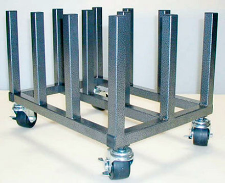Floor Rack on Casters