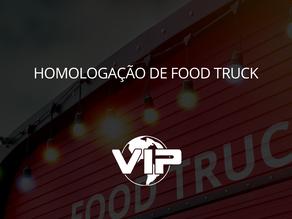 Homologação para food truck