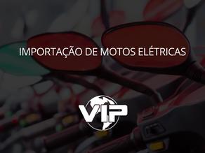 Importação de moto elétrica