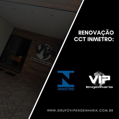 Renovação CCT INMETRO: