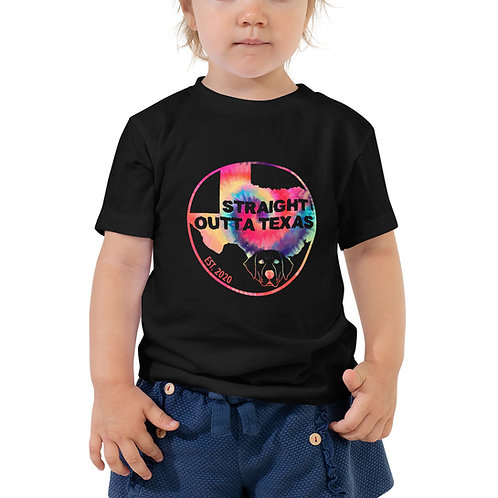 SOT-tiedye -Toddler Short Sleeve Tee