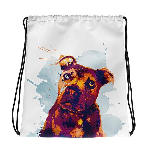 Inu-Drawstring bag