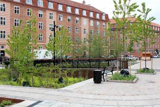 La gestion de l'eau dans la ville, le premier espace urbain climatique de Copenhague