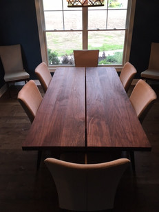 Walnut Gapped Dining Table #3