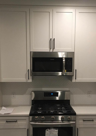 Oven/Microwave Wall