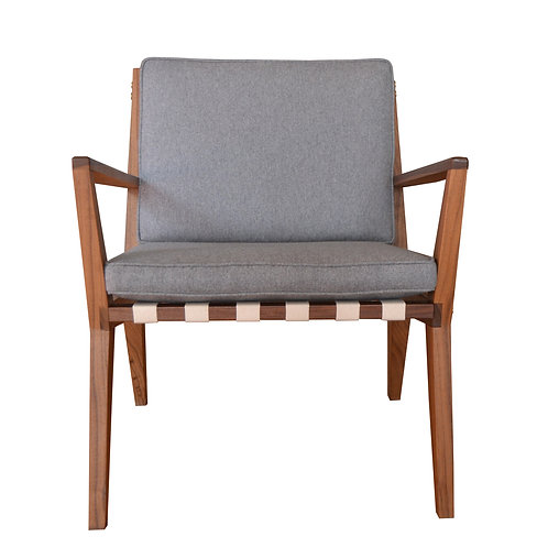 Morrison-Taylor Lounge Walnut Chair