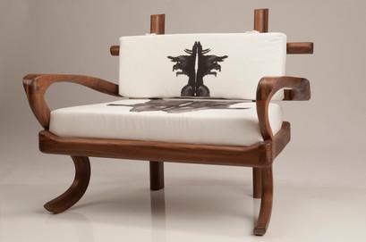 Rorschach Love Seat 2