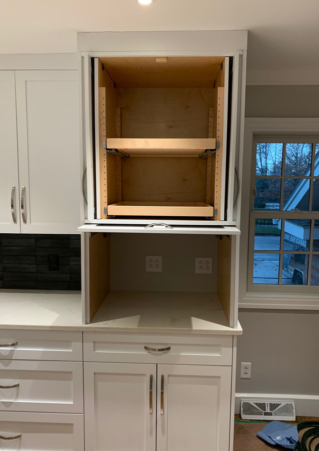 Pantry open front