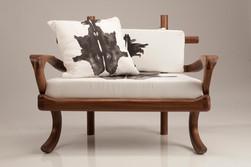 Rorschach Love Seat