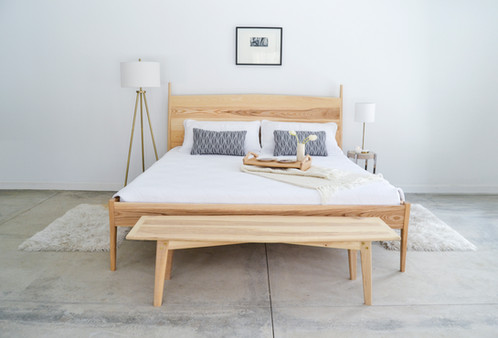 5° Ash Twin Bed Frame