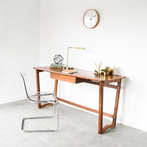 5° Walnut Desk