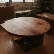 Round Reclaimed Table Top
