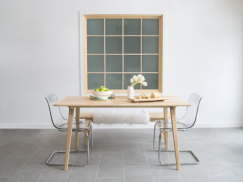 5° Ash Dining Table