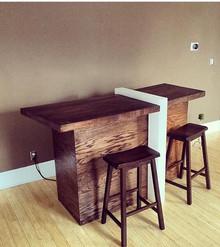 oak/acrylic bar 2