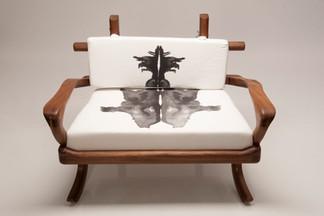 Rorschach Love Seat 4