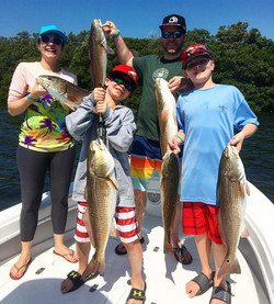 Nonstop Redfish Action