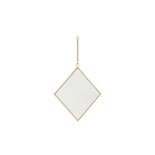 Spiegel, 15x17 cm, goud