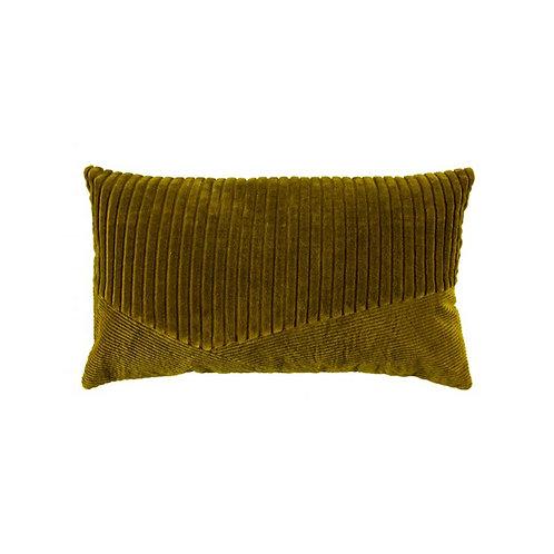 Kussen velvet Groen 30x50 cm