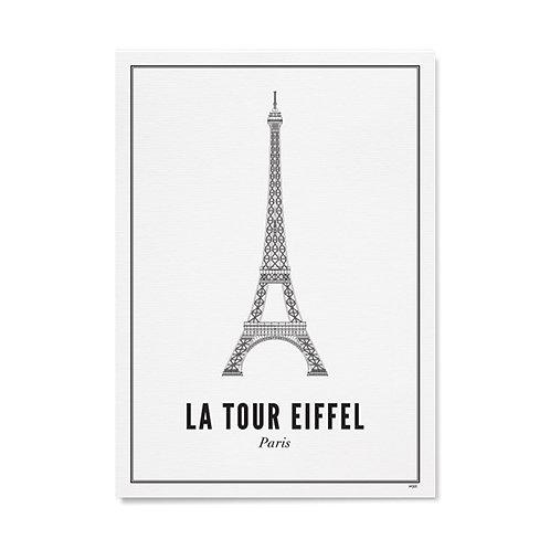 Poster - La Tour Eiffel 40x50