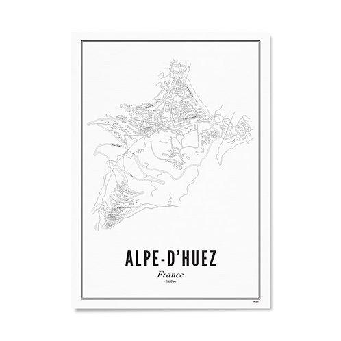 Poster - Alpe-D'Huez 50x70