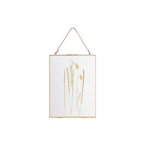 Fotolijst met droogbloemen 40x30 cm