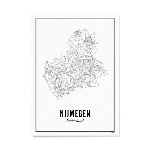 Poster - Nijmegen 40x50