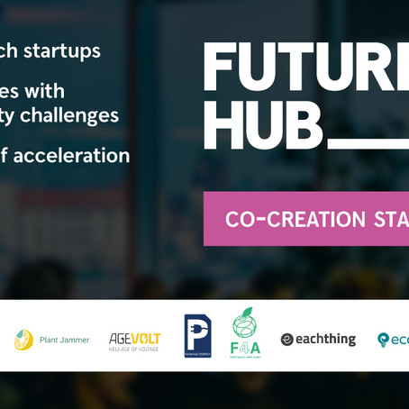 Co-creation starts now: Meet the 10 startups selected for Future Hub