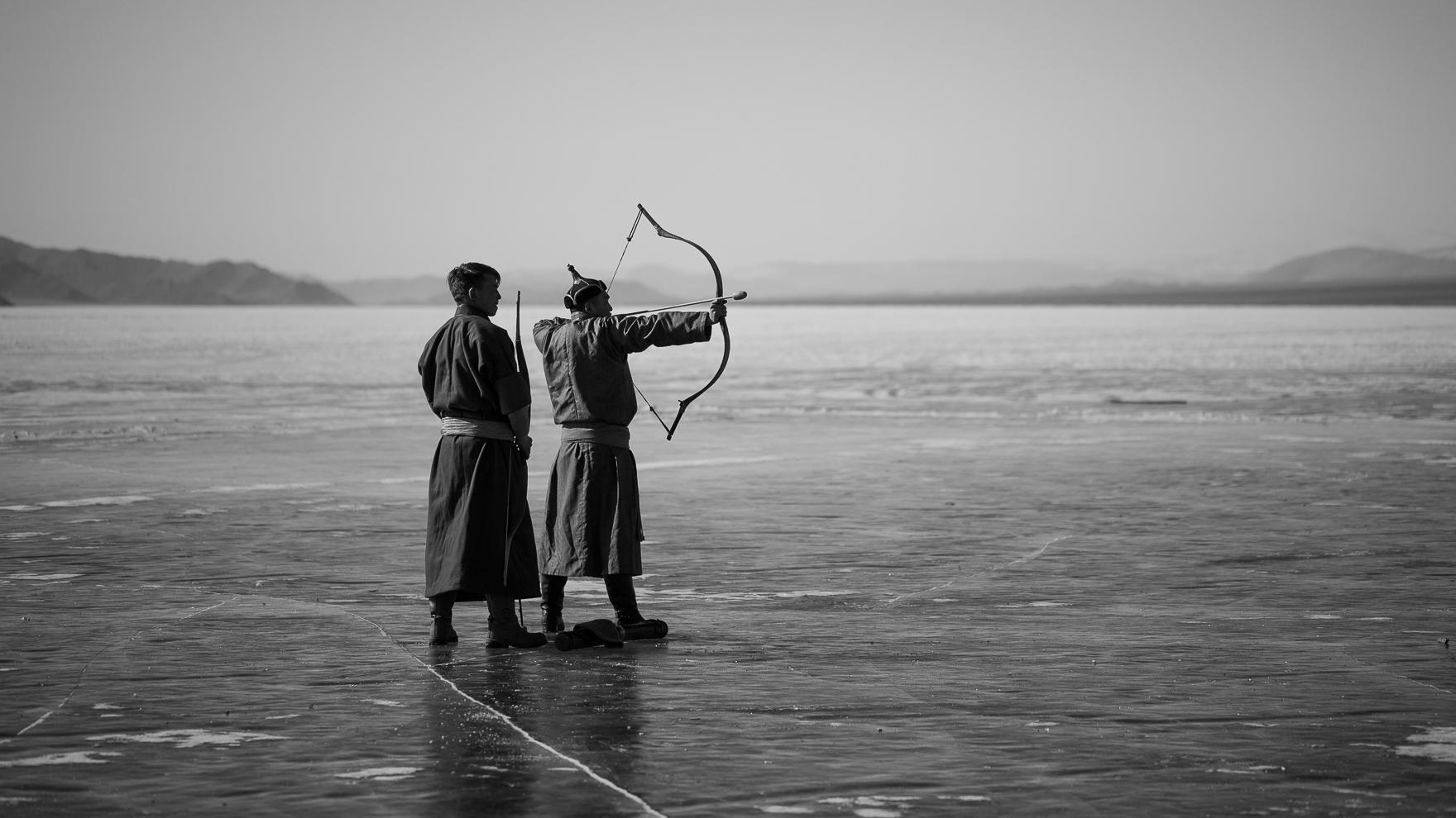Ice Archery Mongolia