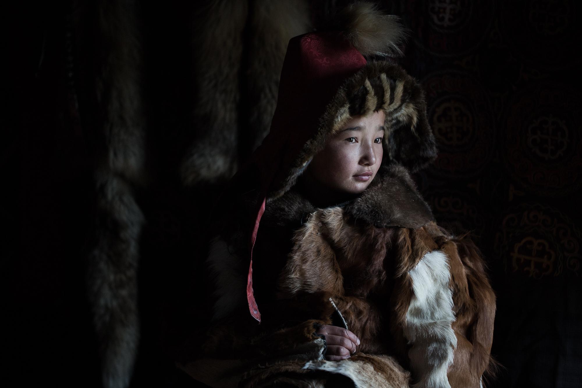 Eagle Huntress, Altai, Mongolia