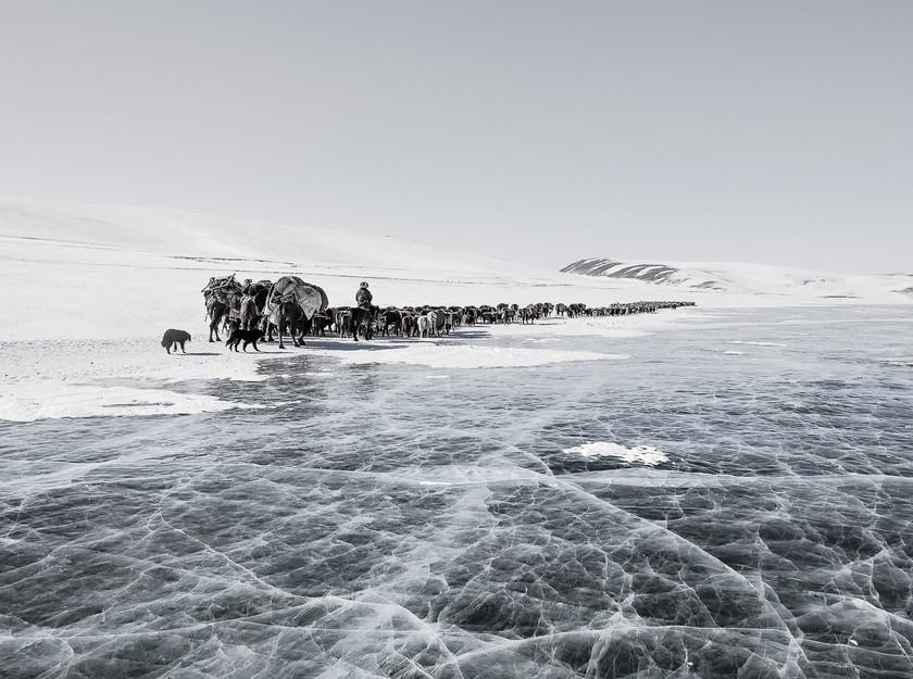 Ice Lake .  Altai Mountains, Western Mongolia. © 2017