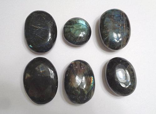 Fire Labradorite Palm Stones