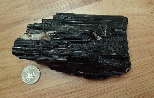 Black Tourmaline, Raw Rough - 1 lb 4.7 oz