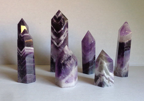 Chevron Amethyst Point