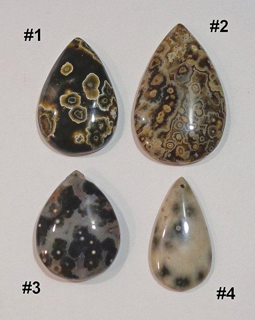 Ocean Jasper Pendant Beads